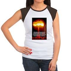 Atomic Bomb: Oppenheimer Women's Cap Sleeve T-Shir