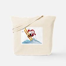 Santa's Ski Trip! Tote Bag