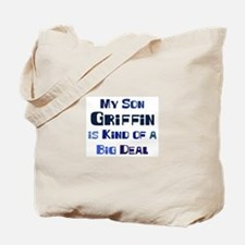 My Son Griffin Tote Bag