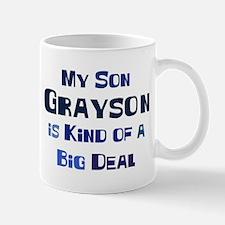 My Son Grayson Mug