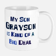 My Son Grayson Small Small Mug
