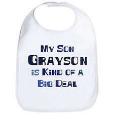 My Son Grayson Bib