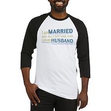 Lousy Husband Baseball Jersey