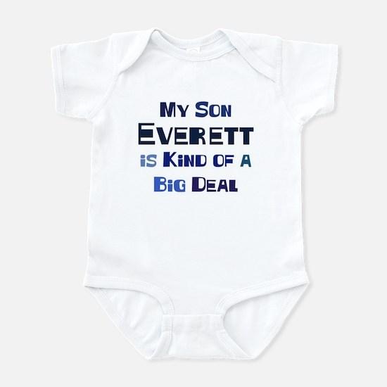 My Son Everett Infant Bodysuit
