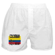 Colombia Rocks Boxer Shorts