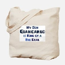 My Son Giancarlo Tote Bag