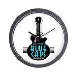 Inductees: Blue Caps - Wall Clock