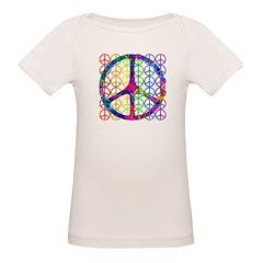 Rainbow Peace Symbols Tee