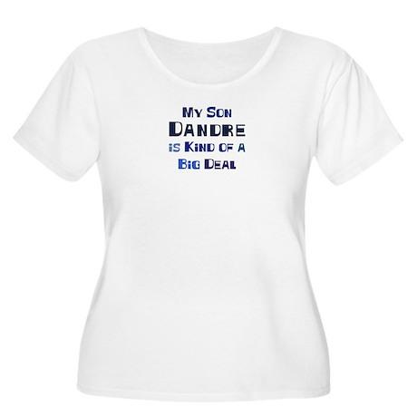 My Son Dandre Women's Plus Size Scoop Neck T-Shirt