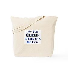 My Son Corbin Tote Bag