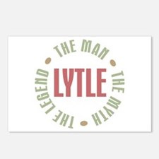 Lytle the Man Myth Legend Postcards (Package of 8)