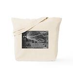 Alternating Current: Tesla Tote Bag