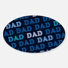 Dad Oval Decal