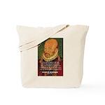 Michel de Montaigne Education Tote Bag