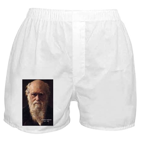 Charles Darwin: Evolution Boxers