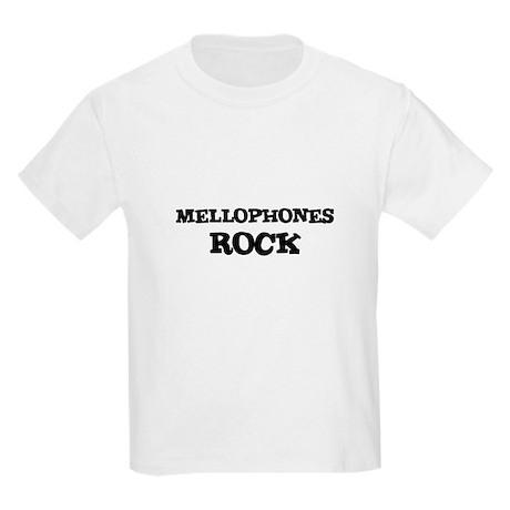 MELLOPHONES ROCK Kids T-Shirt