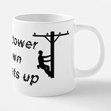 When the power goes down.pn 20 oz Ceramic Mega Mug