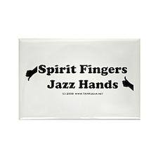 Jazz vs. Spirit Rectangle Magnet