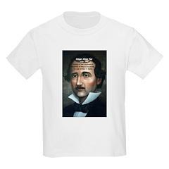 Poet Edgar Allan Poe Kids T-Shirt