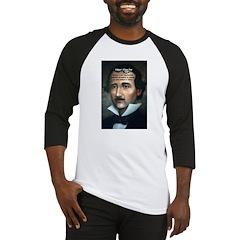 Poet Edgar Allan Poe Baseball Jersey