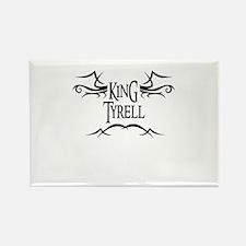 King Tyrell Rectangle Magnet
