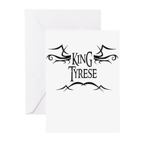 King Tyrese Greeting Cards (Pk of 10)
