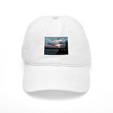 Sunset- Bass Harbor Maine Baseball Cap