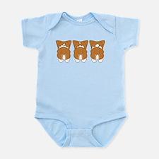Red Pembroke Infant Bodysuit