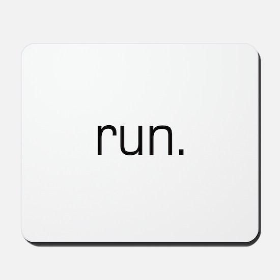 Run Mousepad