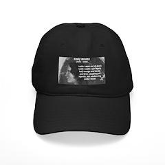 Novelist: Emily Bronte Baseball Hat