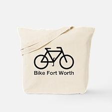 Bike Fort Worth Tote Bag