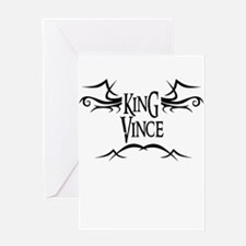 King Vince Greeting Card