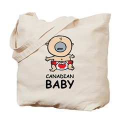 Canadian Baby Tote Bag