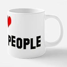 Jake byrd I love famous peo 20 oz Ceramic Mega Mug