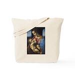 Woman and Child: Da Vinci Tote Bag