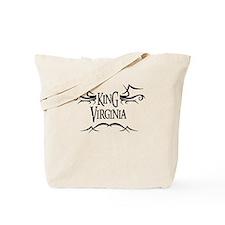 King Virginia Tote Bag