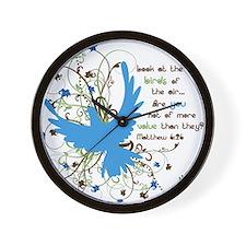 Value of Birds Wall Clock