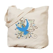 Value of Birds Tote Bag