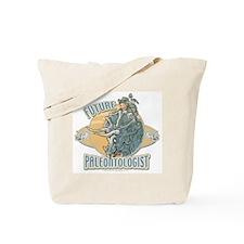 Boy Paleontologist Tote Bag