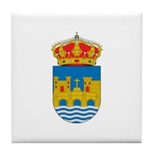 Cute Cross and crown Tile Coaster