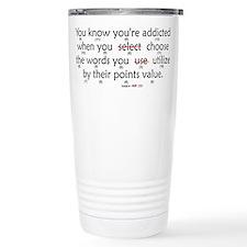 Scrabble Points Travel Mug