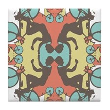 kaleidoscope Tile Coaster