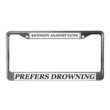 Kennedy Against Guns License Plate Frame