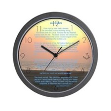 """Footprints"" Wall Clock"