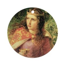 Queen Eleanor Ornament (Round)