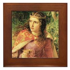 Queen Eleanor Framed Tile