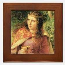 Queen Eleanor Framed Tile