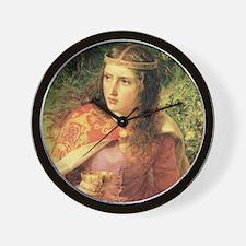 Queen Eleanor Wall Clock