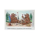 Toasting Bears Rectangle Magnet (10 pack)