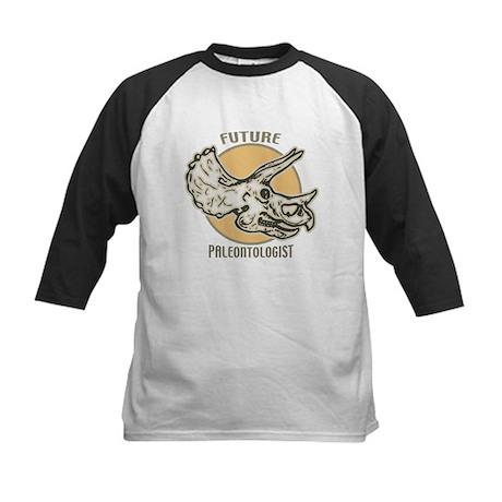 Future Paleontologist Kids Baseball Jersey